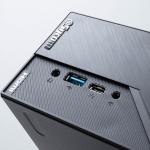 超小型PC「Radiant SPX2800X300A」はRyzen 3 PRO 4350Gでハイエンドスタンダードノートより高性能、省スペースなデスクトップ環境に最適