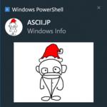 Windows PowerShellからスクリプトの完了をトースト通知で知らせる