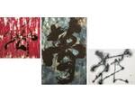 NYインスパイアのモダン空間に墨アートが融合 キンプトン新宿東京「ROGEN SUMI ART展」が6月30日から
