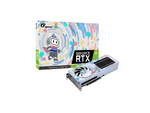 オリジナルデザインのデュアルサイドファン+GeForce RTX 3060搭載Bilibili動画コラボモデルのビデオカード