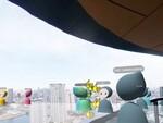 360度カメラで撮影した空間の中をアバターで自由に見学できる「XR Campus - ツアー」