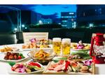 夏の定番「屋上ビアガーデン」を楽しもう! 新横浜プリンスホテル、7月3日より開催