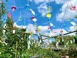 風鈴やランタンが庭園を彩る! 横浜イングリッシュガーデン、夏限定の装飾は6月28日から