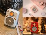 ラジオと共存するレトロ調Bluetoothスピーカー!