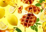 新宿ミロード店だけ! メープル菓子専門店が季節限定ワッフル「瀬戸内レモン」発売、7月1日から
