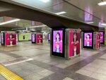 JR秋葉原駅で『ユージェネ』の駅広告をチェック!