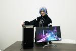 VRアーティスト せきぐちあいみ氏に聞く、Samsung SSDが刺激するクリエイターの「制作の源」