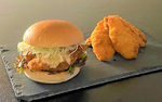 「玄品」で「ふぐバーガー」を販売! 天然まふぐや、とらふぐを贅沢サンド!