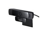 ステレオマイク内蔵でフルHD画質対応のウェブカメラ発売、サンワから