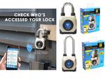 スマホやNFCタグ、Apple Watchがカギになるスマート南京錠「Smart Padlock 3(GT2100)」が4398円