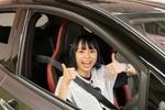 日産のリーフ NISMOで自動駐車機能に純情のアフィリア・寺坂ユミが驚愕!