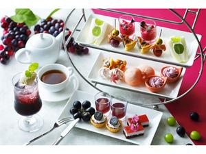 秋の味覚が楽しみ! 小田急ホテルセンチュリーサザンタワー、ブドウづくしのアフタヌーンティーを9月1日より提供