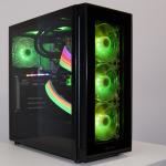 電源ケーブルも光るコダワリの超ライトアップゲーミングPC「ZEFT RL31ARGB」、BTOパソコンだから大変な組み立ても歴戦のプロにお任せ!