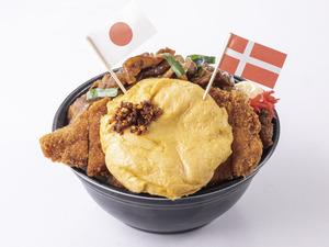 「大阪王将」史上最重量! 1500gの「無差別超級頂点君臨丼」おうちご飯にいかが