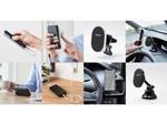 MagSafeでしっかりiPhoneに装着できるモバイルバッテリー&車載ホルダー、エレコムより