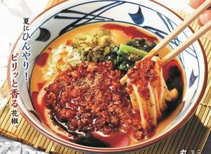 丸亀製麺、完全新作「シビ辛麻辣坦々うどん」本場四川の香辛料を使用した夏メニュー