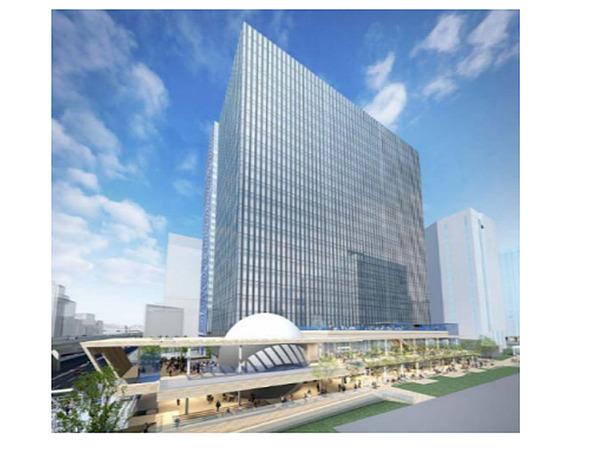 3社、横浜市との連携を発表「横濱ゲートタワープロジェクト」