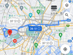 グーグルが東京2020仕様に。経路検索が交通規制に対応、競技情報を検索に表示