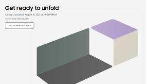 サムスン、8月11日に「Galaxy Unpacked」を予定 折りたたみスマホの新モデルか!?
