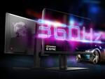 MSI、最大リフレッシュレート360Hzの24.5型ゲーミングディスプレー