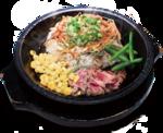 肉×ご飯×野菜をアツアツの鉄皿で!「ビビンバ ペッパーライス」発売