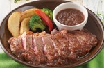 ジョナサン、話題のウルグアイ牛ステーキ発売中!肉本来の美味しさが魅力