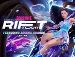 8月7日の7時より『フォートナイト』で世界的歌手のアリアナ・グランデさんが出演するスペシャルイベント「リフトツアー」が開催!