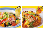 リンガーハット、五感で楽しめる「彩り野菜のちゃんぽん/皿うどん」を新発売