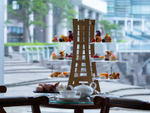 開業28周年を記念! ランドマークタワー型の特注アフタヌーンティーを9月1日より提供、横浜ロイヤルパークホテル