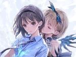 「お願い」を聞いて楽しい異世界生活を!『BLUE REFLECTION TIE/帝』のゲーム紹介映像が公開