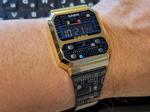 カシオ+パックマンのコラボモデル復刻腕時計を衝動買い