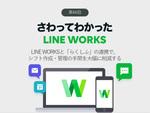 LINE WORKSと「らくしふ」の連携で、シフト作成・管理の手間を大幅に削減する