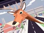 スローライフ街破壊ゲーム 『ごく普通の鹿のゲーム DEEEER Simulator』が11月25日にフルリリース決定!