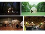 被災地や観光地で活用できる組立式ダンボールテント「DAN DAN DOME」