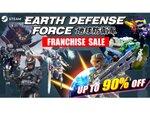 Steamで「地球防衛軍」シリーズが最大90%オフ!「EDF」限定「MIDWEEK MADNESS」セールを開催