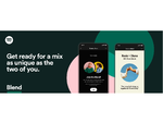 Spotify、2人のリスニング傾向をかけあわせたプレイリストを作成できる機能「Blend」の提供を開始