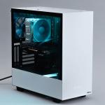 高性能・高コスパ・コダワリパーツで人気のゲーミングPC「G-Master Axilus」が刷新! PCケースにNZXT製「H510i White」採用
