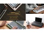 タイプライターような打鍵感と音を持つMX BLUEを採用したキーボード「PENNA」