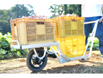 ねこ車電動化キット「E-Cat Kit」、独自開発の一輪車フレームとセット販売開始