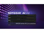 ネットギア、IP映像伝送方式「NDI 5」をサポートしたM4250スイッチシリーズの新ファームウェアリリース