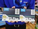 CrucialのSSD「P5 Plus」シリーズに500GBと2TBモデルが追加
