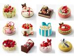 今年はバラエティー豊かなケーキがいっぱい! 小田急百貨店新宿店「クリスマスケーキ」10月9日予約開始