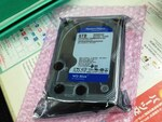 【価格調査】WD製HDDの6TBが限定特価で9438円に