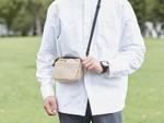 エレコム、新しい生活様式対応のマスクポケット付きショルダーポーチ