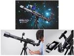 秋の夜長は天体観測、スマホを取り付けて撮影できる屈折式天体望遠鏡「GALAXY TRACKER 525/1700」が1万5895円