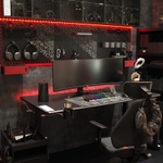ASUS、最新PCと周辺機器を出展、ROG&イケアと協力開発したゲーミング用家具やアクセサリーも展示