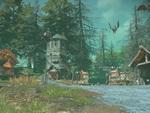 新作MMORPG『ELYON』LV25付近のエリア「黒雲の森」と「トゲガメの岸」を紹介