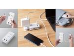 ケーブルがすっきり収まるACタップ(USB充電ポート付き)、エレコムより