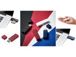 USBメモリーのような小型SD/MicroSDカードリーダー、エレコムから