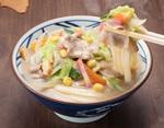 丸亀製麺「ちゃんぽんうどん」が今年も! 一部店舗で「担々まぜ釜玉」も